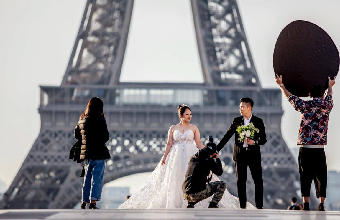 getting officially married in Paris